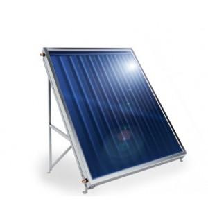 Слънчев колектор плосък, с алуминиев оребрен абсорбер, 1,5кв.м