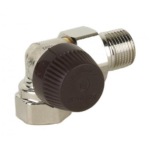 Термостатен вентил Honeywell 1/2'' (ъглов-ляв)