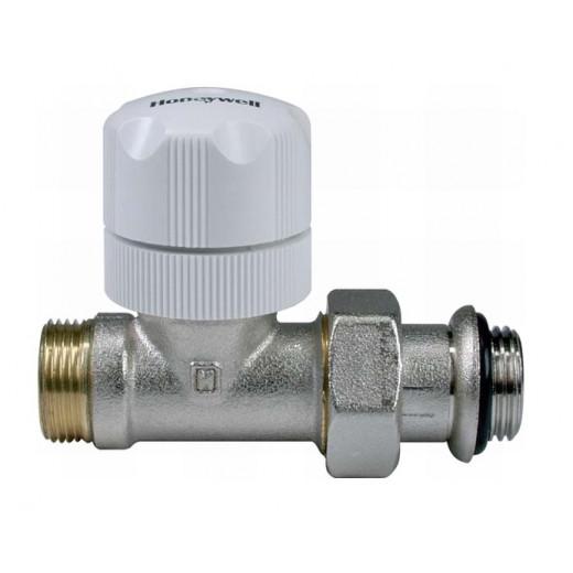 Термостатен вентил Honeywell за свръзка ф16 (прав)