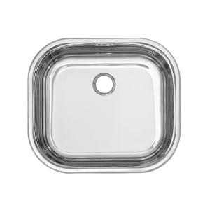 Умивалник за вграждане еднокоритен, кухненски 400/450 mm - Ф52 mm