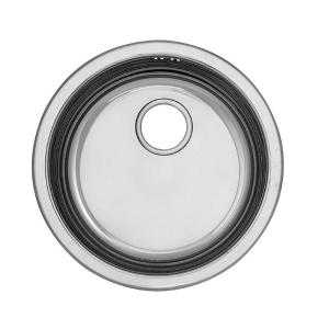 Умивалник кръгъл, за вграждане, кухненски Ф490/52 mm