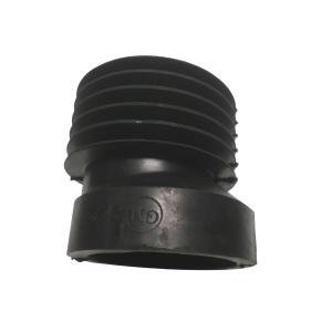 Маншон за мръсна вода Ф110 ексцентричен (черен)