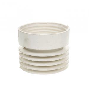 Маншон за мръсна вода Ф110 ексцентричен (бял)