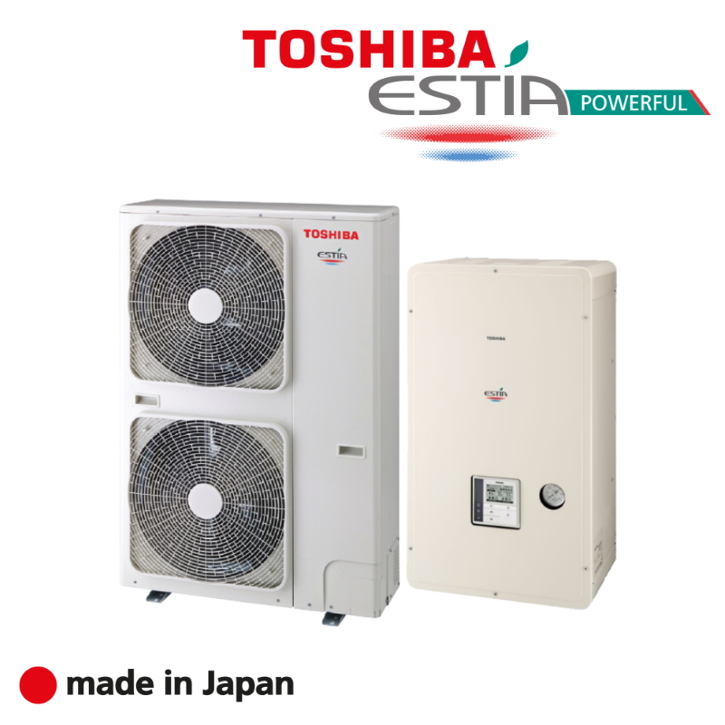 Термопомпи Toshiba ESTIA POWERFUL
